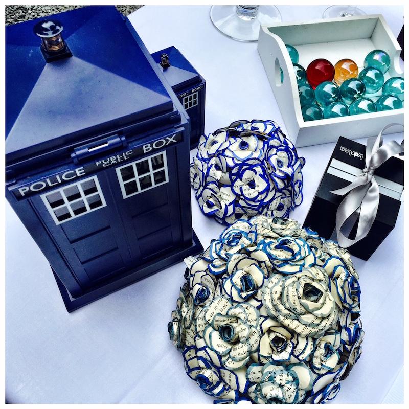 Hochzeitsdeka Dr.Who